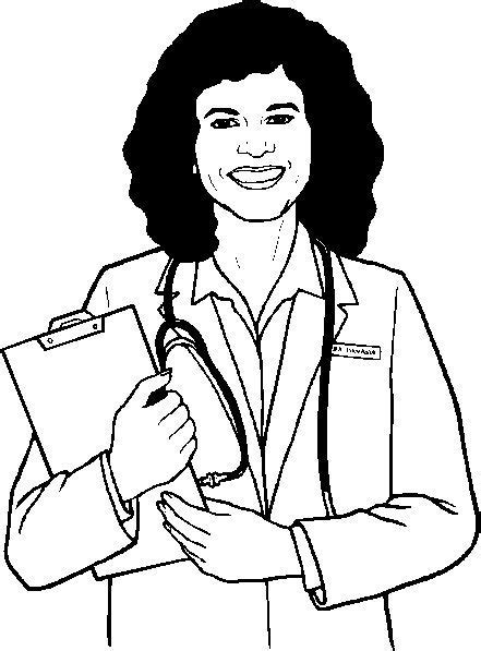 coloring pages doctor nurse doctor coloring pages for understanding kids why do they