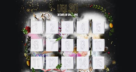Ubisoft Pc Giveaway - ubisoft 30 days of giveaways free stuff until christmas