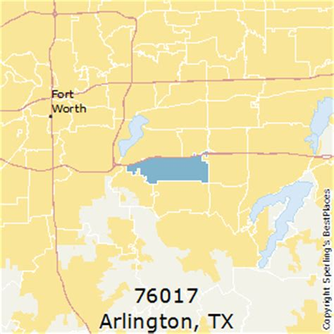 arlington texas zip code map best places to live in arlington zip 76017 texas