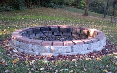 build pit uk building an outdoor pit with stones outdoor furniture design and ideas