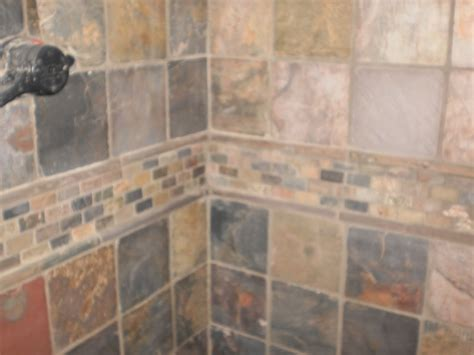 Installing Slate Tile Tiles Interesting Slate Tile Shower Floor Slate Tile Shower Floor Best Slate Sealer For Shower