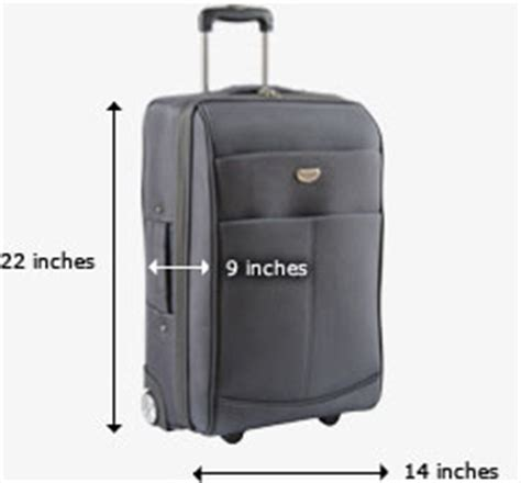 united baggage size airline carry on size