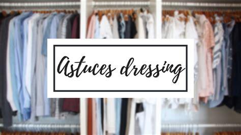 8 astuces rangement dressing accessoires