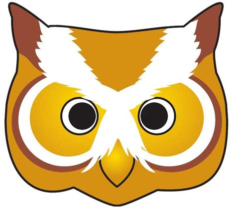 printable owl face 64 free kids face masks templates for halloween to print