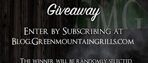 Andy Giveaway Contest by Contests Archives Green Mountain Grills