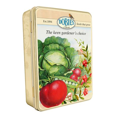 dobies tin vegetable growing accessories garden
