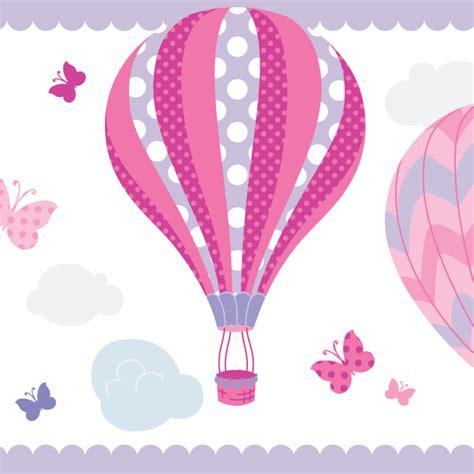 bordure kinderzimmer pink dinki balloon bord 252 re hei 223 luftballons pink lila