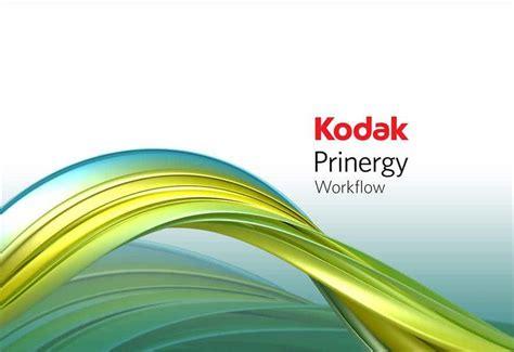 prinergy workflow kodak confirms partnerships with komori konica minolta