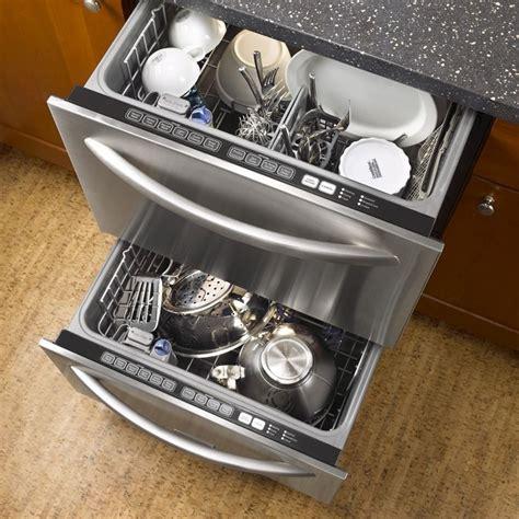 Half Drawer Dishwasher by Best 25 Drawer Dishwasher Ideas On 2 Drawer