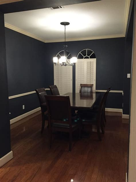 After painting with Sherwin Williams   7076 Cyberspace