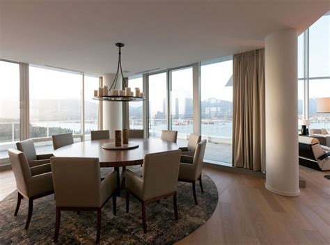 Fairmont Penthouse By Robert Bailey Interiors Wave Avenue Apartment Size Dining Table Vancouver
