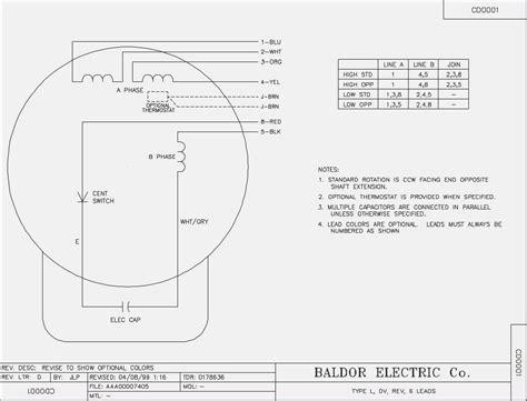 marathon electric motors wiring diagram wiring