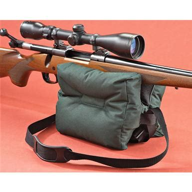 remington shot saver bench rest allen filled bench bag 142923 shooting rests at