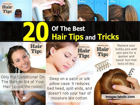 20 best beauty tips and tricks for women 20 of the best hair tips and tricks