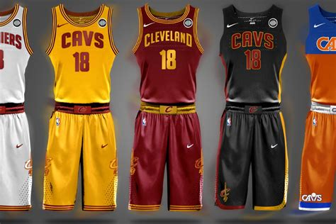 cavaliers new year jersey look here s one potential design for the cavaliers new