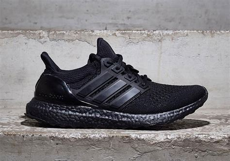 Adidas Ultra Boost 20 Tripple Black adidas ultra boost black info metall it