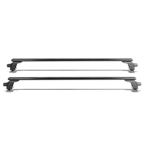 Cargo Luggage Rack by 50 Quot Adjustable Pair Of Aluminum Top Cross Bar Cargo Roof Racks