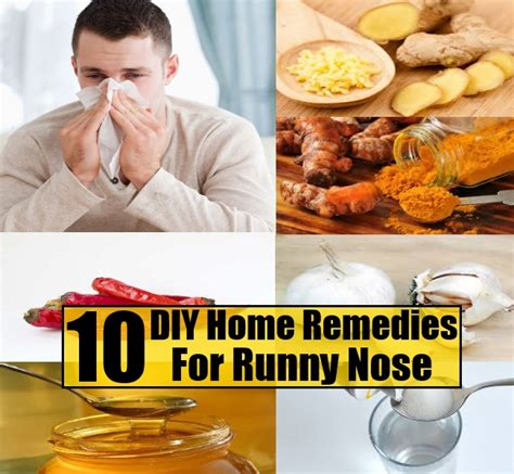top 10 excellent diy home remedies for runny nose diy