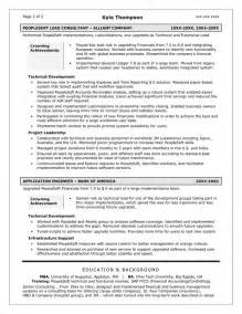 Sle Resume Objectives For Entry Level by Resume For Technical Writer Sales Technical Lewesmr