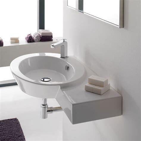lavabo sospeso lavabi sospesi lavabo sospeso mensola dx wish
