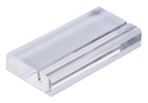 Slotted Business Card Holder acrylic square business card holder slotted