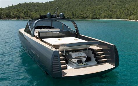 fast day boats for sale norman foster designed yacht is a sleek way to sail the