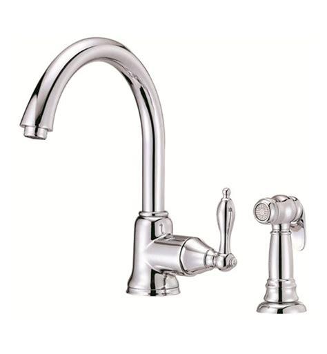 danze single handle kitchen faucet danze d401540 fairmont single handle kitchen faucet with