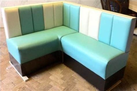 american diner bench seating american diner corner bench seating custom made retro