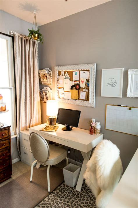 1000 ideas about small bedroom office on