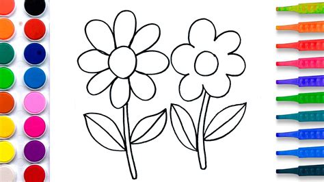 paint with water coloring pages flowers coloring pages salt painting for kids fun art