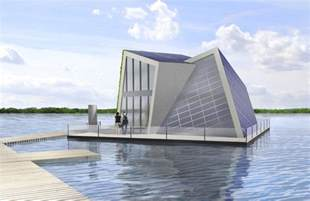 german scientists design state of the floating home