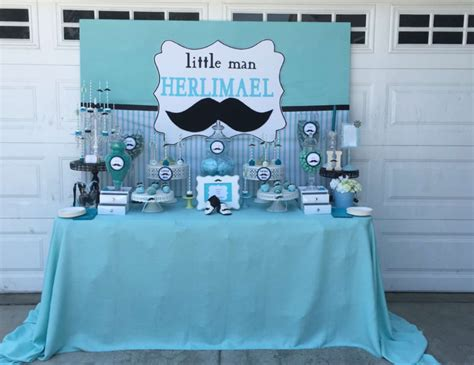 Mustache Themed Baby Shower Supplies by Mustache Baby Shower Baby Shower Quot Mustache Baby Shower