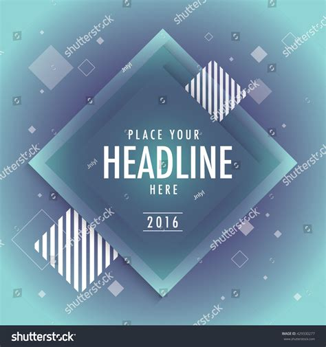 poster design elements vector abstract background design with geometrical elements