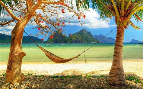 Hamac Brésilien by 34 Mooie Zon Zee En Strand Achtergronden Mooie Leuke