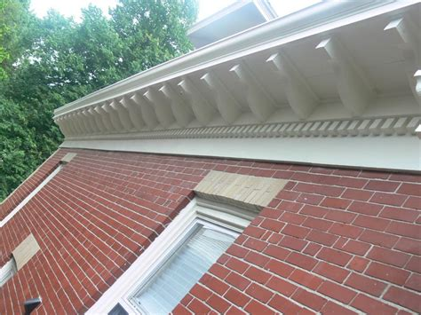 Roof Cornice New Cornice To Take A 1960 S Addition Back To 1900 Part I