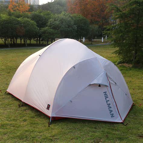 Tenda Cing Ultralight Layer Waterproof hillman 3 4 person layer silicon coated waterproof ultralight cing tent in tents from