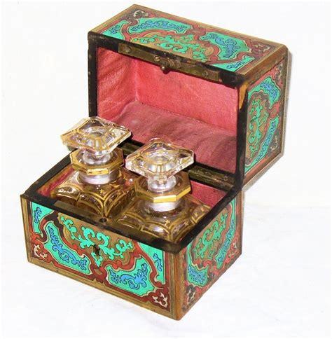 Parfum Napoleon ancienne boite napoleon iii boulle marqueterie second