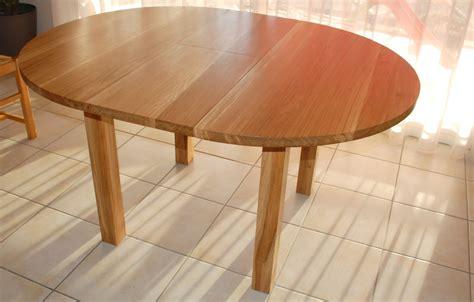 table contemporaine album table contemporaine ronde a rallonges atelier