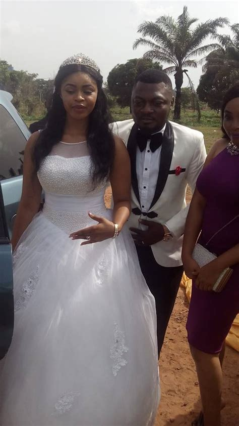 Nollywood Actress Regina Daniels Plays The Bride maid At