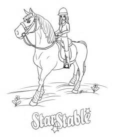 empty stable coloring page coloring pages