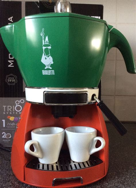 maker bialetti vintage gemelli stovetop maker made in italy