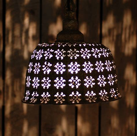 Moroccan Ceiling Lights Uk Moroccan Ceiling Pendant Light By Made With Designs Ltd Notonthehighstreet