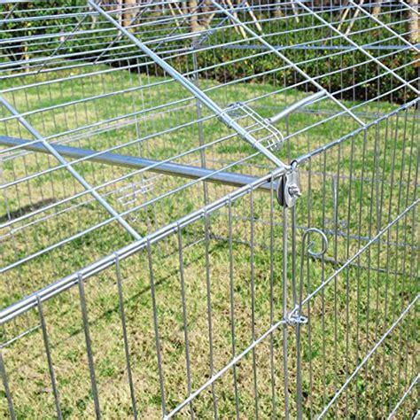 gabbia per conigli grande woltu ht2067m1 pollaio gabbia grande per conigli criceto