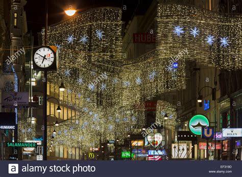 Christmas Lights K 228 Rntner Stra 223 E Street Innere Stadt Vienna Lights