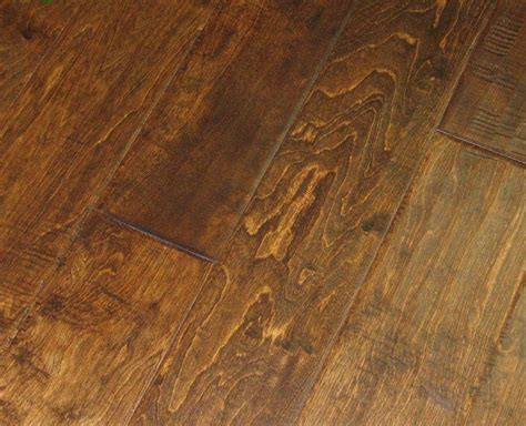 engineered distressed hand scraped birch colombian hardwood floor flooring
