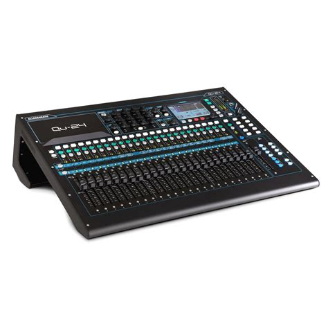 Mixer Allen Heath Qu 24 allen and heath qu 24 digital mixer nearly new at