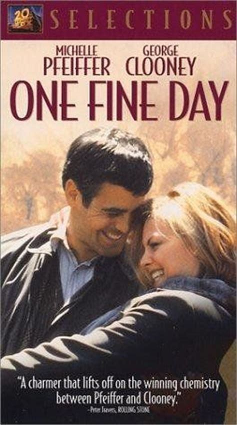 one day romantic film michelle pfeiffer one fine day and george clooney on