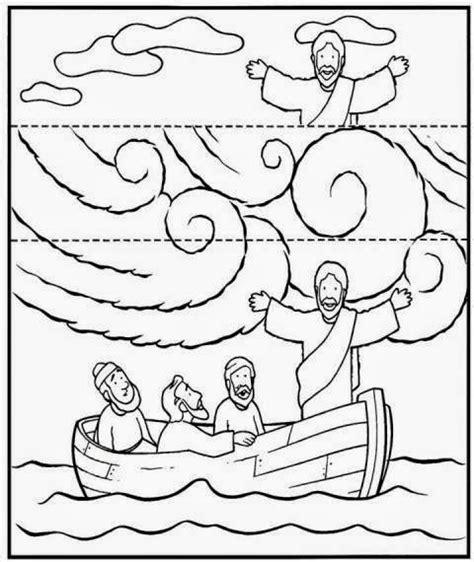 coloring page of jesus calming the sea me aburre la religi 211 n jes 218 s calma la tempestad