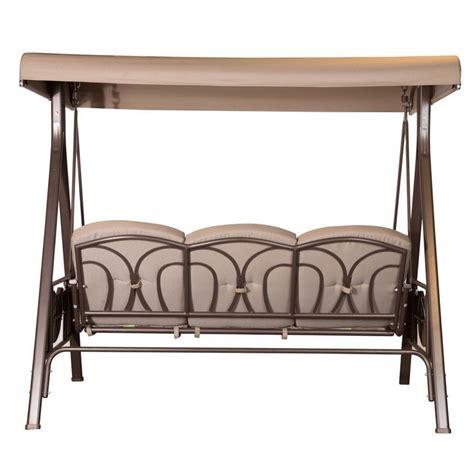metal swing frame outdoor furniture 3 seat patio swing chair metal swing chair with steel