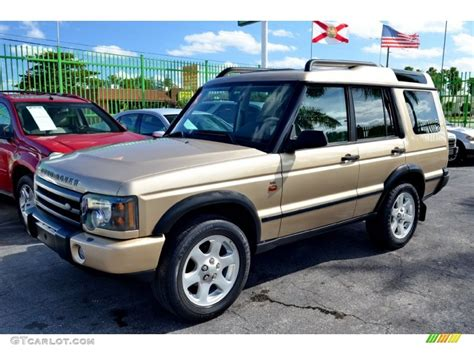 land rover discovery exterior gold 2004 land rover discovery se exterior photo